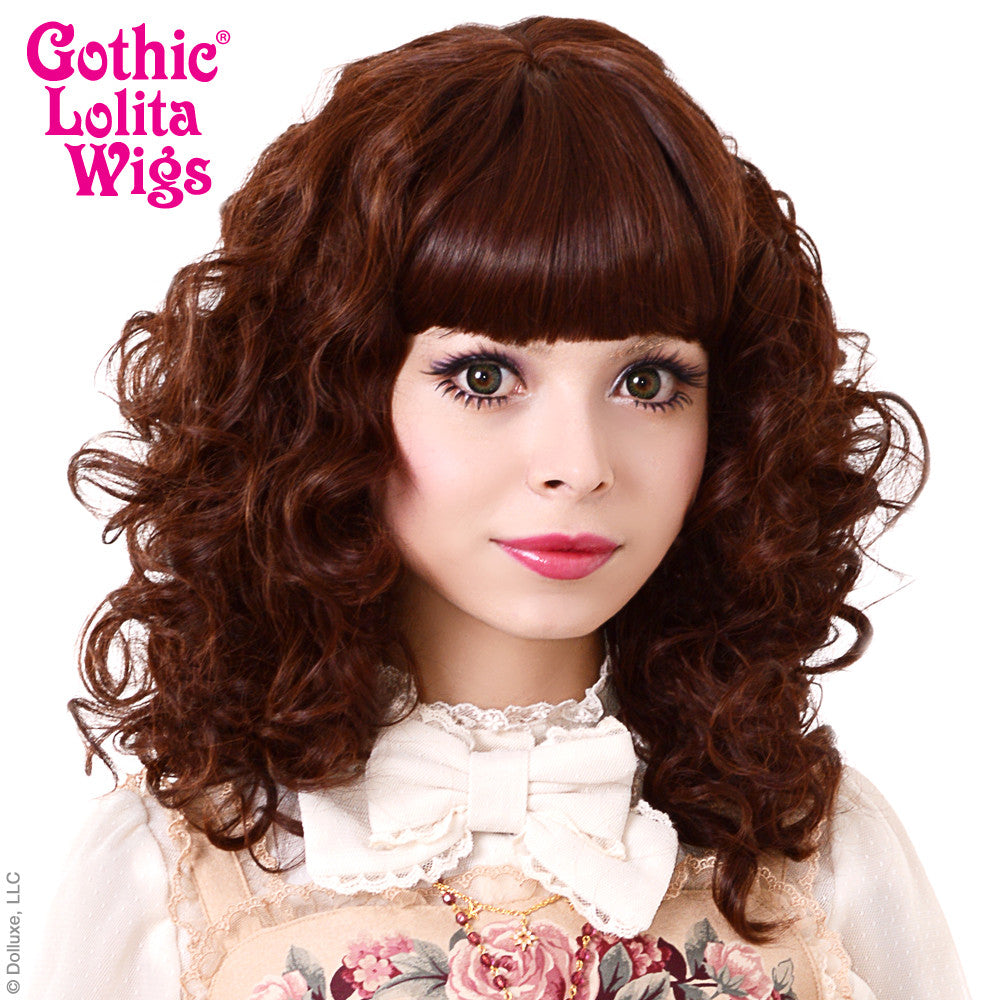 Gothic Lolita Wigs 174 Bijou Chocolate Brown Mix 00439