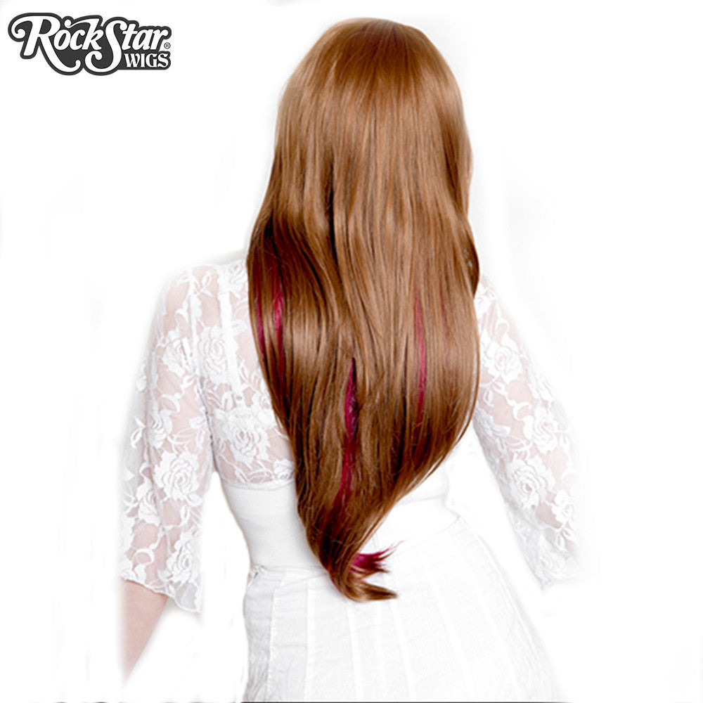 RockStar Wigs® <br> Downtown Girl™ Collection - Light Brown & Burgundy -00153