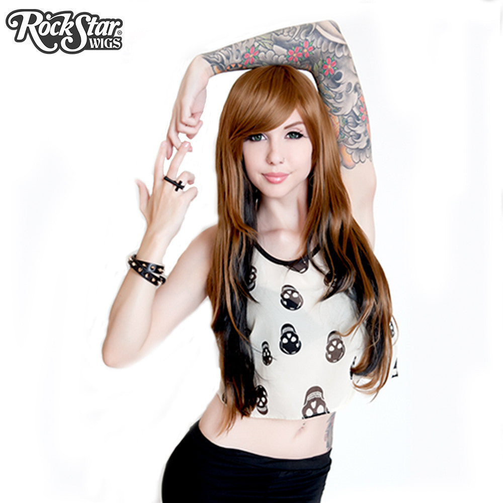 RockStar Wigs® <br> Downtown Girl™ Collection - Light Brown & Black -00152