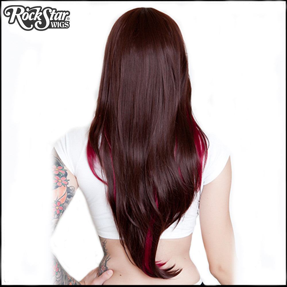 RockStar Wigs® <br> Downtown Girl™ Collection - Chocolate & Burgundy -00151