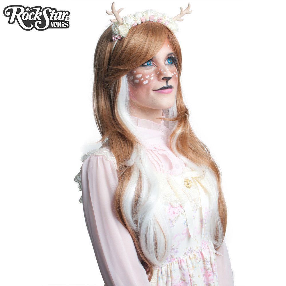 RockStar Wigs® <br> Downtown Girl™ Collection - Light Brown & White -00154