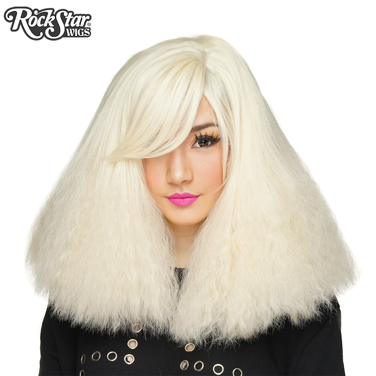 RockStar Wigs® <br> Dynamite™ Collection - Platinum Blonde Blast -00168