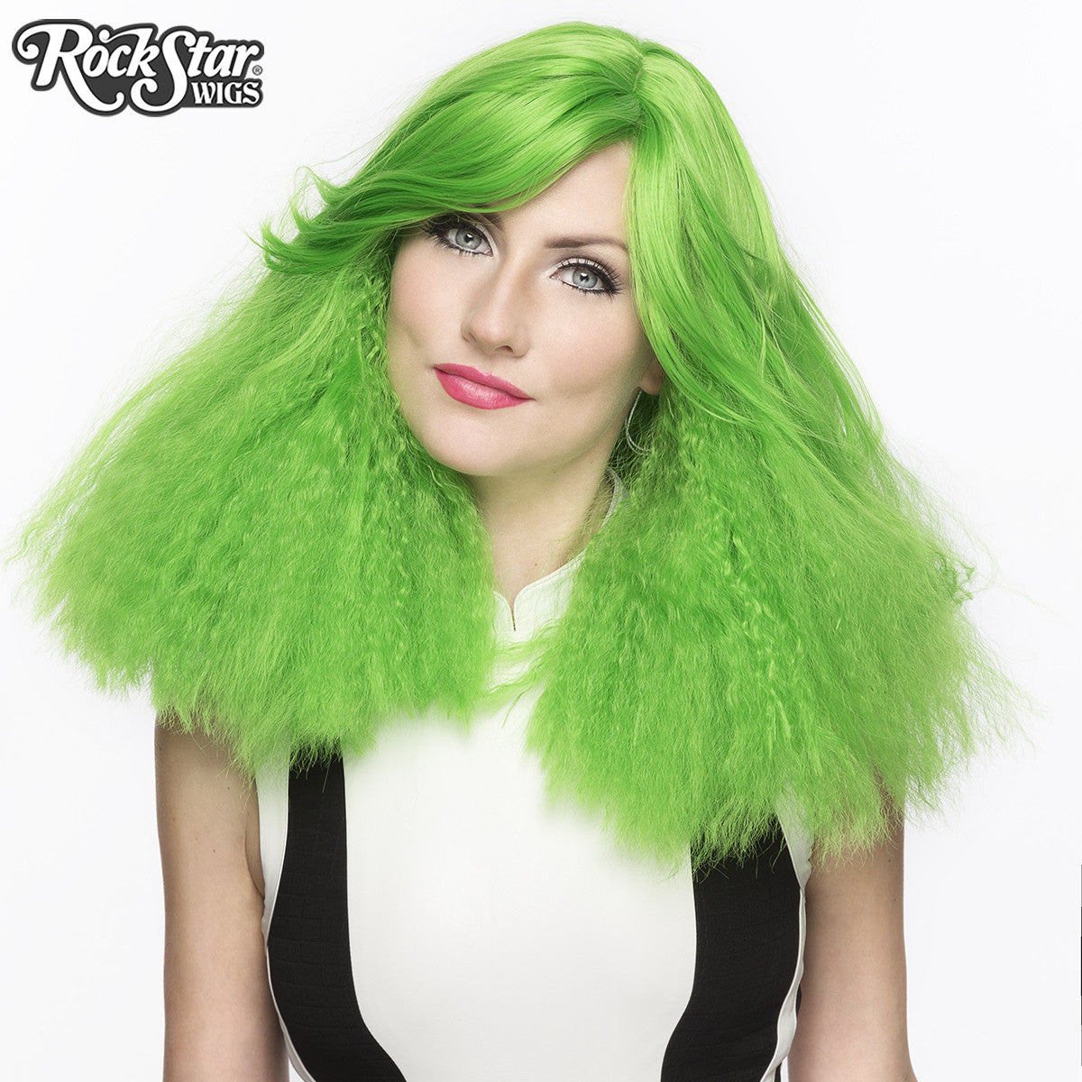RockStar Wigs® <br> Dynamite™ Collection - Lime Green-ade -00163