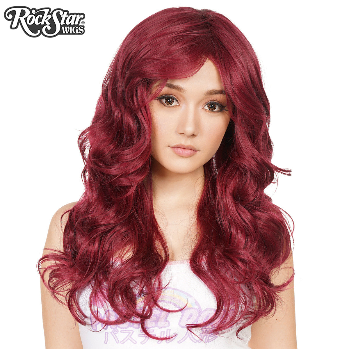 New Gothic Tempress Wig Red//Auburn curly Wig