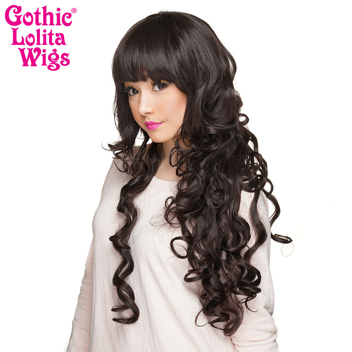 Gothic Lolita Wigs® <br> Duchess Elodie™ Collection - Dark Brown Mix -00055