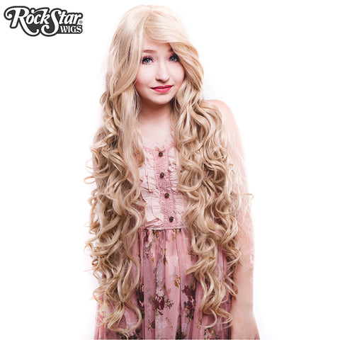 "Cosplay Wigs USA™ <br> Curly 90cm/36"" - Dark Blonde - 00321"