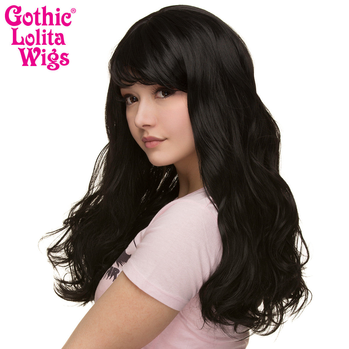 Gothic Lolita Wigs® <br> Heartbreaker Collection - Black -00066