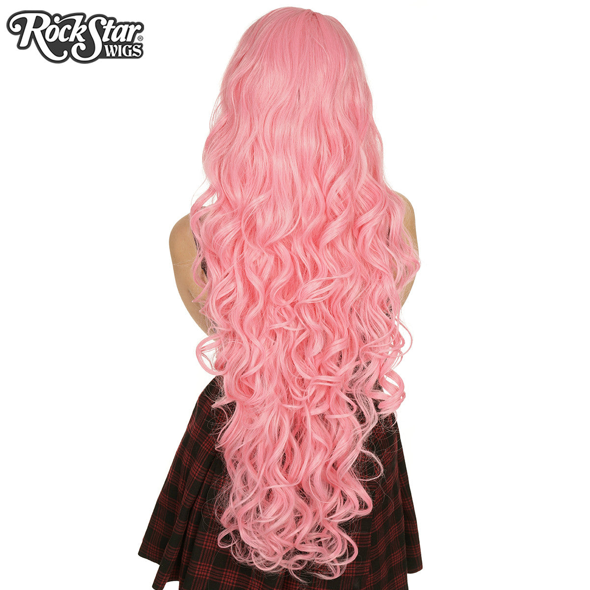 "Cosplay Wigs USA™ <br> Curly 90cm/36"" - Bubblegum -00319"