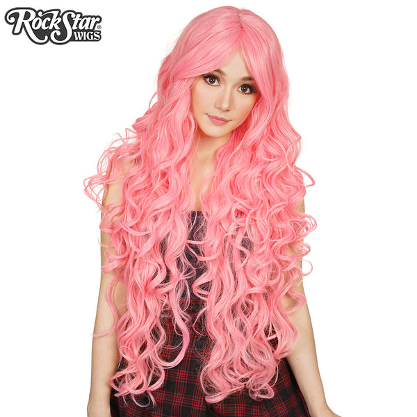Copy Of Cosplay Wigs Usa Curly 90cm 36 Quot Bubblegum