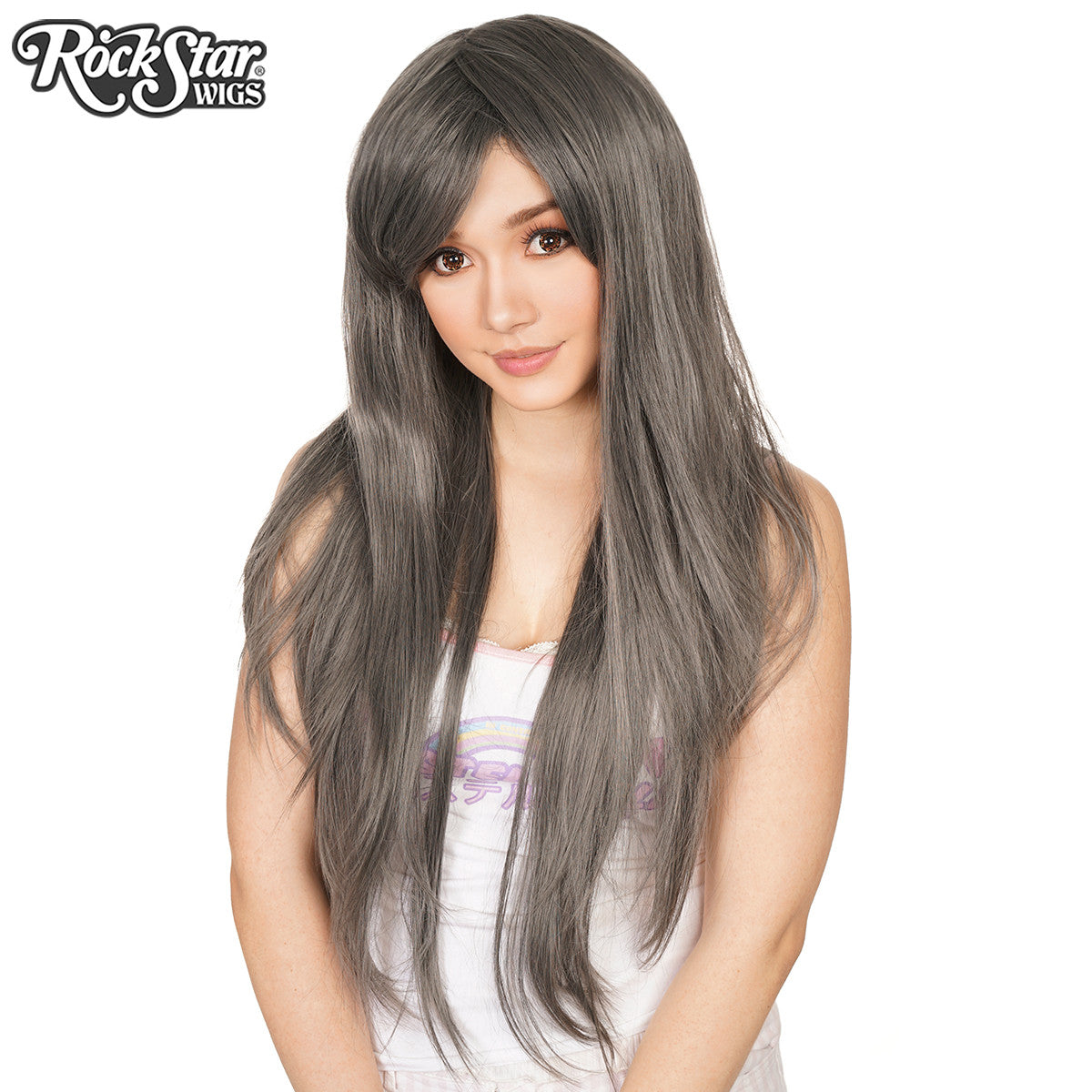 RockStar Wigs® <br> Ombre Alexa™ Collection -  Dark Grey Mix -00546