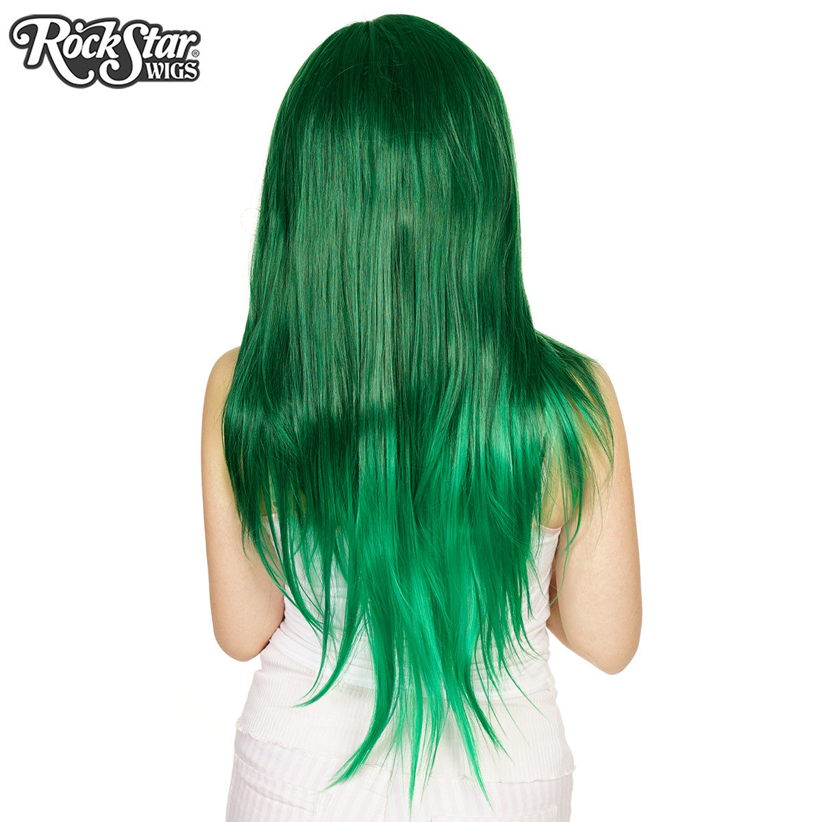 RockStar Wigs® <br> Ombre Alexa™ Collection - Forest Green Fade -00199
