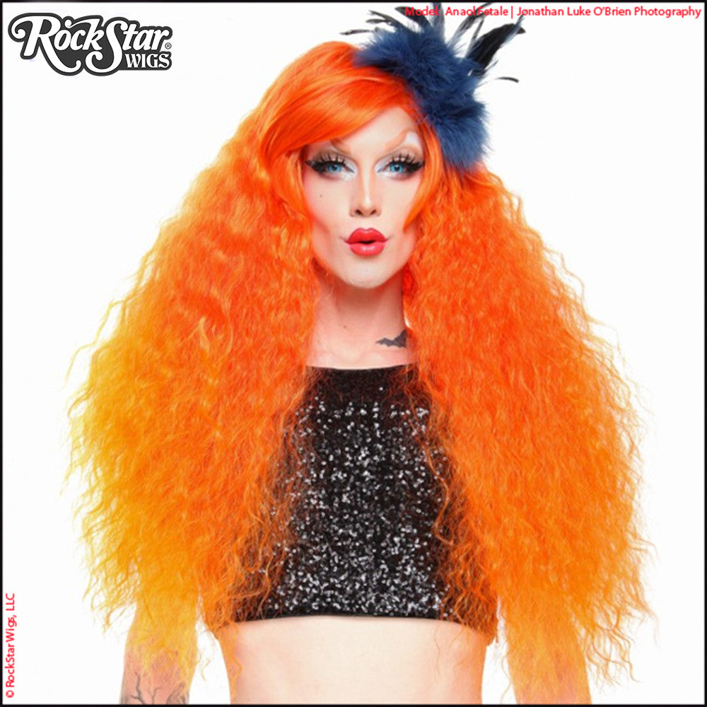 RockStar Wigs® <br> Prima Donna™ Collection - Flame à l'orange -00208
