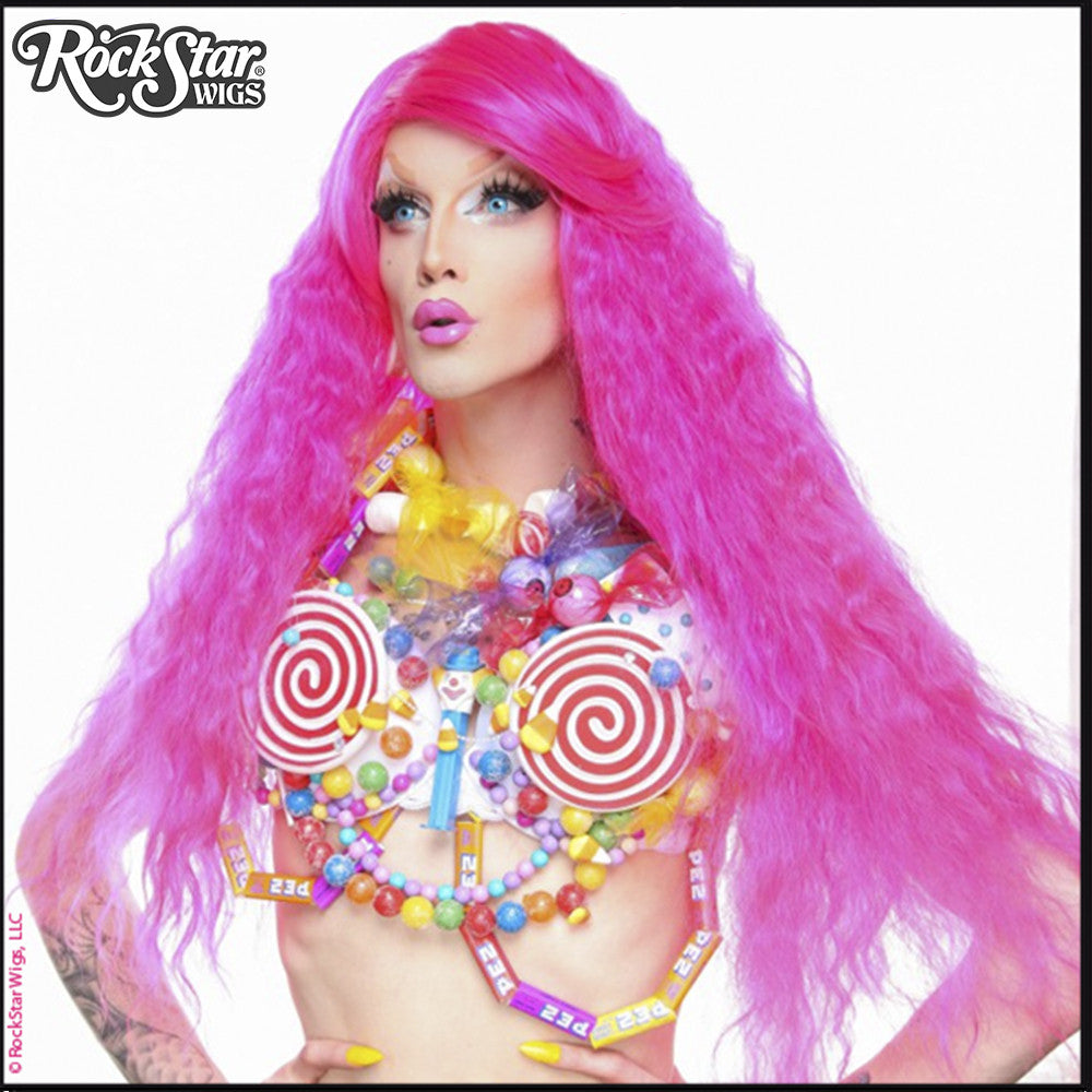 RockStar Wigs® <br> Prima Donna™ Collection - Hot Pink Intensity -00211