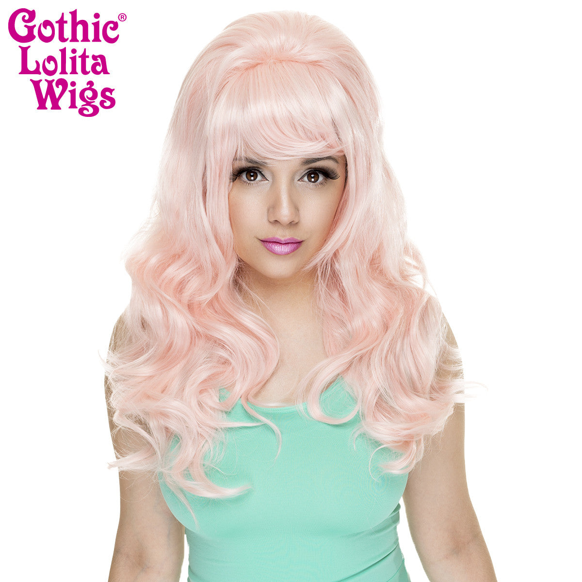 Gothic Lolita Wigs® <br> Princess™ Collection - Pinkie (Pink Blonde) -00512
