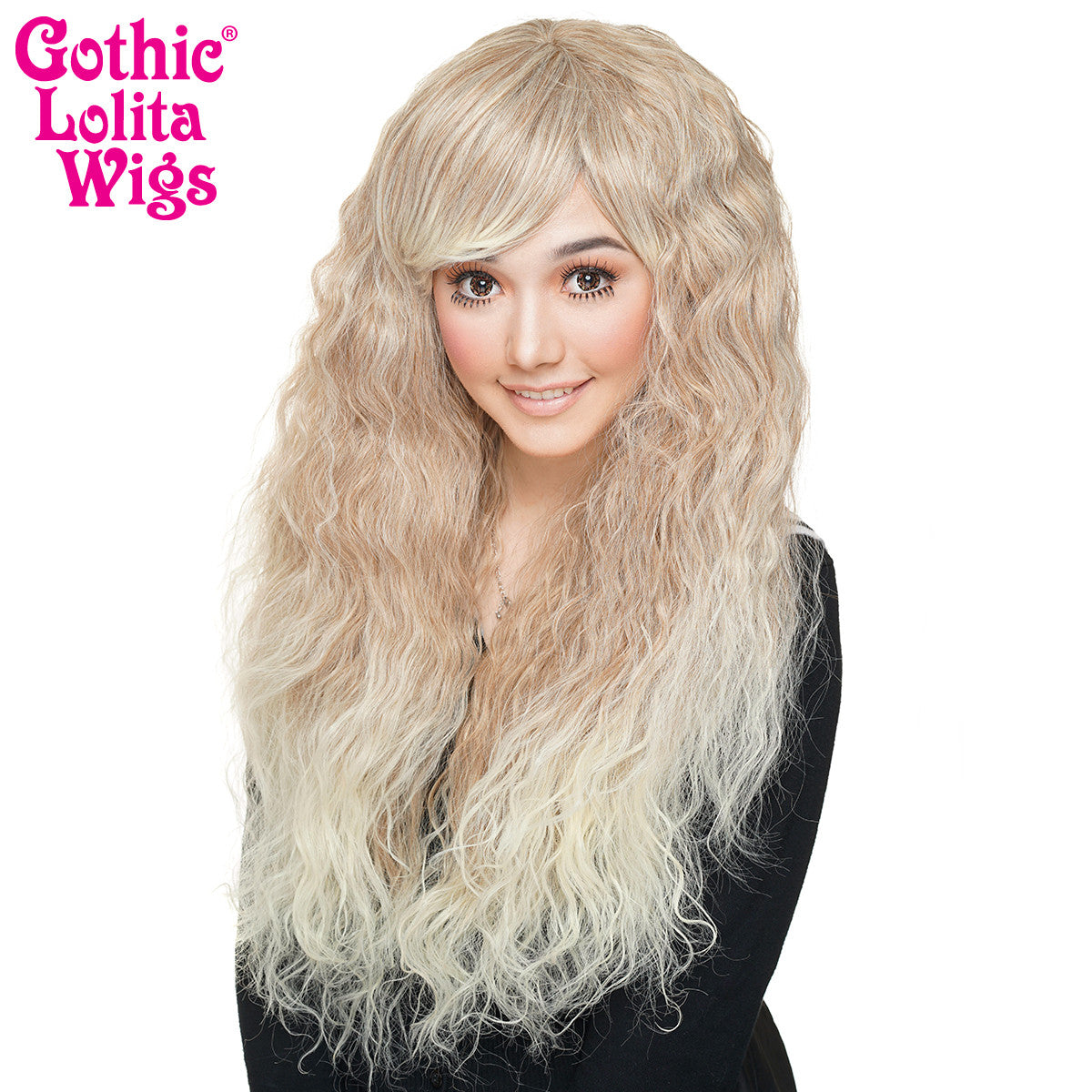 Gothic Lolita Wigs® <br> Rhapsody™ Collection - Blonde Fade -00100
