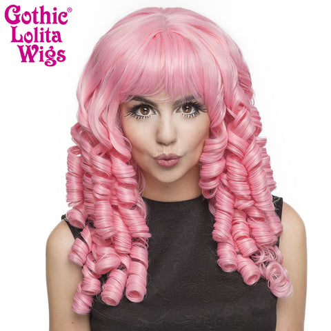 Gothic Lolita Wigs® <br> Ringlet Redux™ Collection - Deep Pink -00122