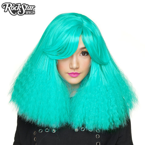 RockStar Wigs® <br> Dynamite™ Collection - Molotov Cock-Teal -00166