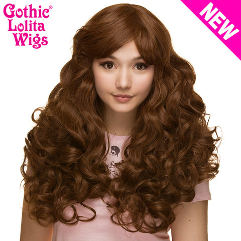Gothic Lolita Wigs® <br> Spiraluxe 2™ Collection - Chocoholic - 00126