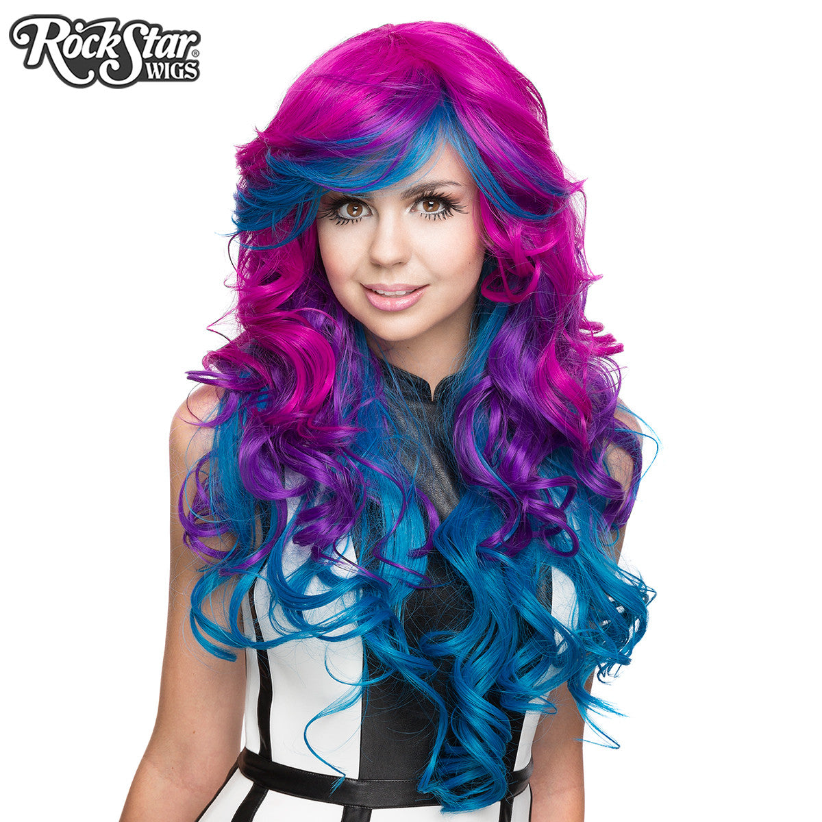 Rockstar Wigs 174 Triflect Collection Ink Royale 00224