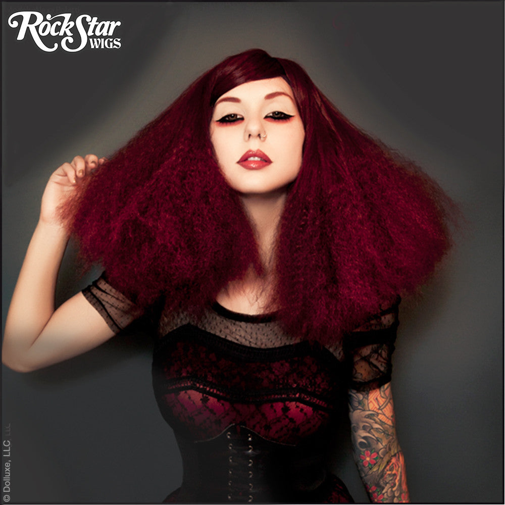 RockStar Wigs® <br> Dynamite™ Collection - Bombastic Wine -00159