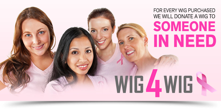 For Every Wig Purchased, We Will Donate a Wig to Someone in Need