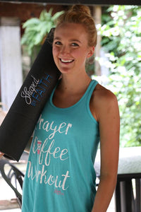 Prayer - Coffee - Workout Tank
