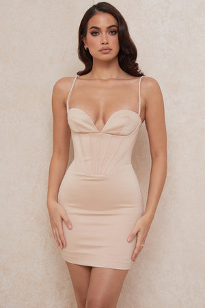 Open image in slideshow, satin mini dress