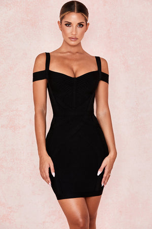 Open image in slideshow, off shoulder lbd