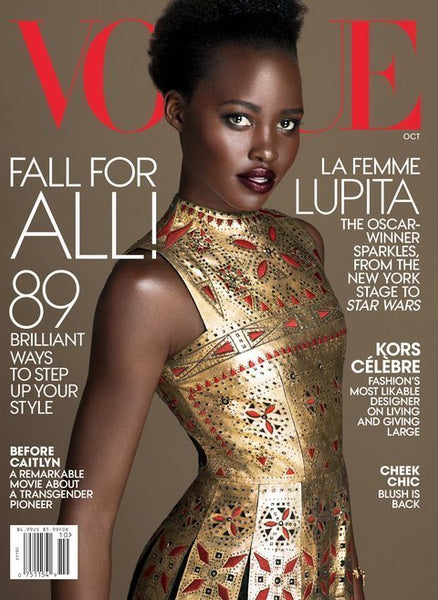 lupita nyong'o for vogue stopshoplondon blog
