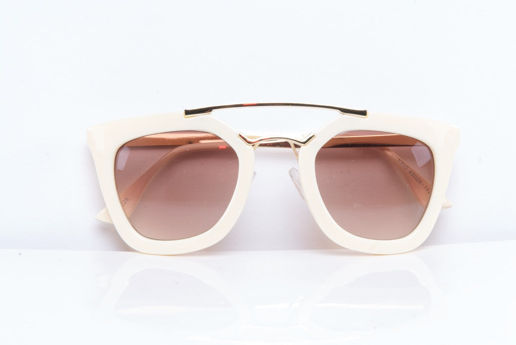 Gesonni sunglasses - White - Stopshop London - 2