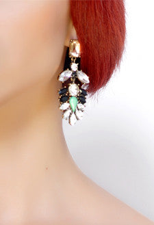 Emerald drop earrings - Stopshop London - 2