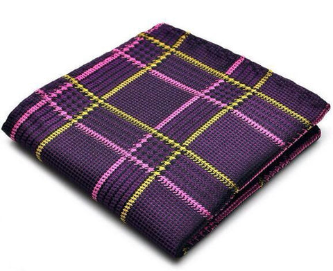 PURPLE HAZE POCKET SQUARE - Stopshop London
