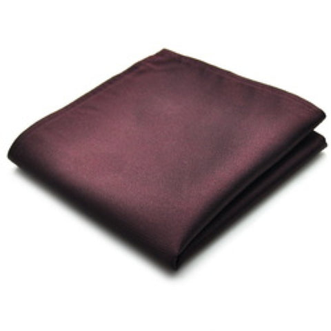 Wine Red pocket square - Stopshop London