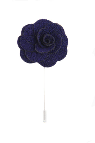 Silk Boutonniere Lapel Pin - Sunglow