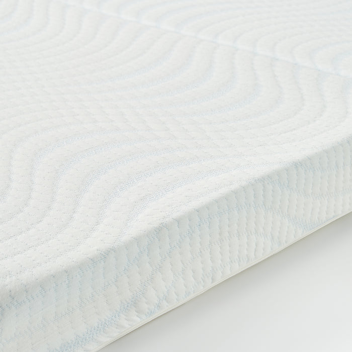 "4"" Trifold Memory Foam Topper with Cover - bpmatt"