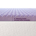 "3"" 5-Zone Memory Foam Topper with Herbal Infusion - bpmatt"