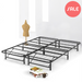 "12"" Quickbase Metal Platform Bed with Steel Slats - bpmatt"