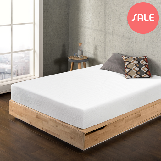 "10"" Airflow Memory Foam Mattress, Cal King - bpmatt"