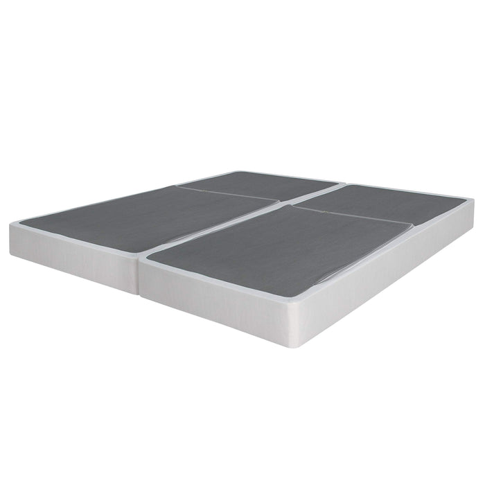 "7.5"" Bifold Steel Box Spring with Legs - bpmatt"