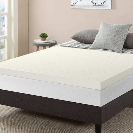 "3"" Memory Foam Topper with Ventilated Cooling - bpmatt"