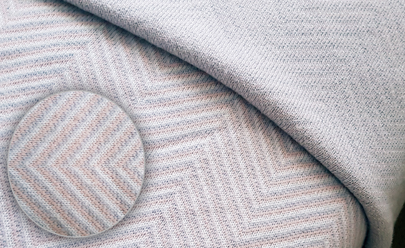 Shell & Silver Sample - Blankets & Throws