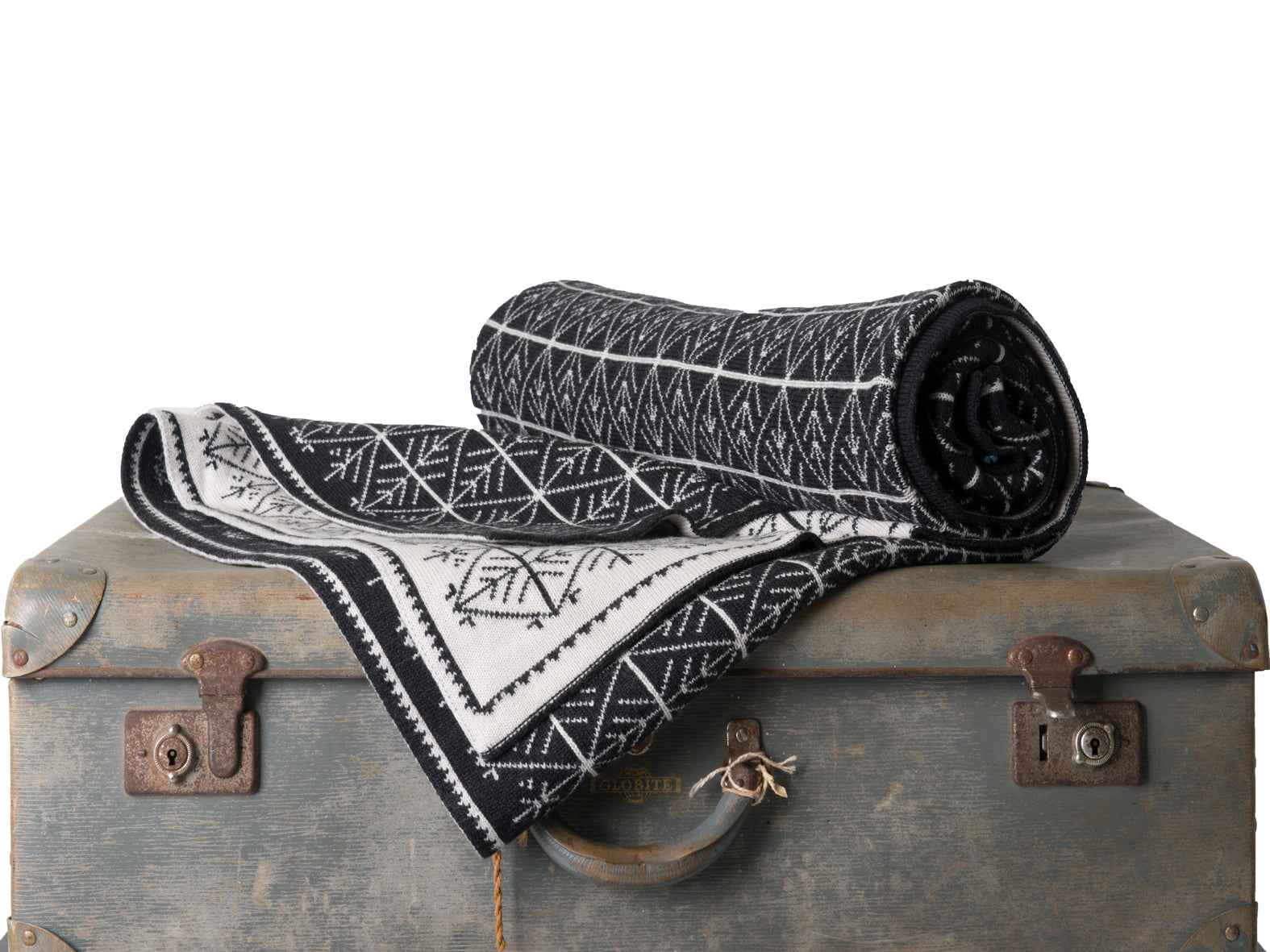 Charcoal & Stone Snowflake - Blankets & Throws