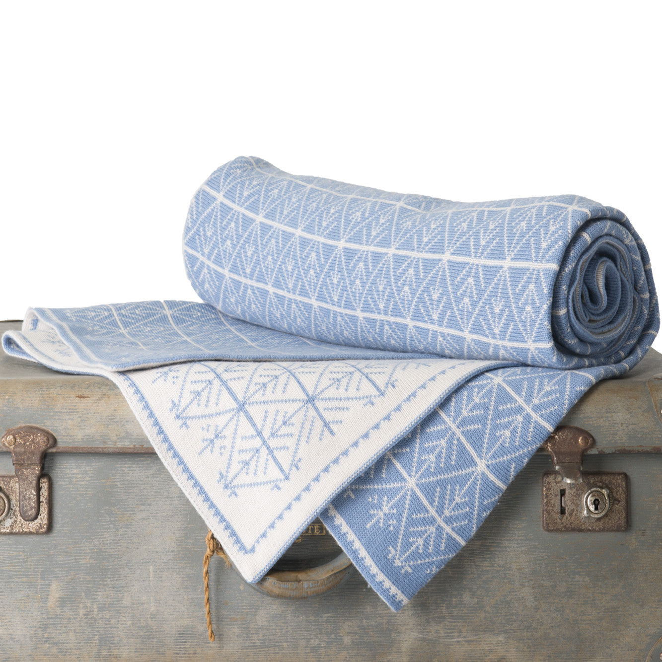 Shades of Blue - Blankets & Throws
