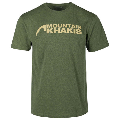 Mountain Khaki Logo T-Shirt (Marsh/Amber) - Shop Escape Outdoors
