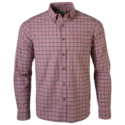 Men's Spalding Gingham Long Sleeve Shirt - Shop Escape Outdoors