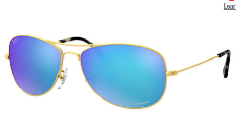 Rayban Chromance Gold Frame (RB 3562) POLARIZED - Shop Escape Outdoors