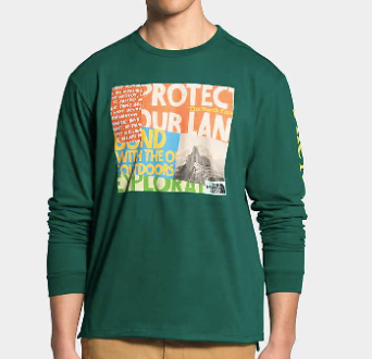 The North Face Rogue Graphic Long Sleeve Tee - Shop Escape Outdoors