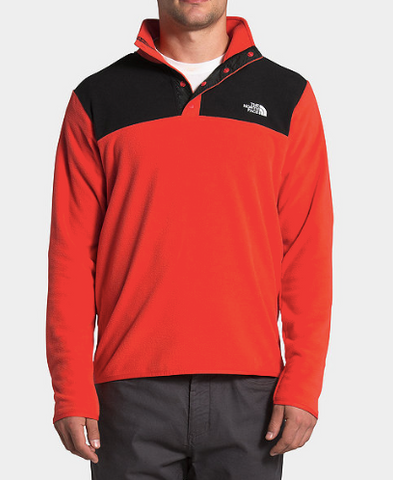 The North Face Men's TKA Glacier Snap-Neck Pullover - Shop Escape Outdoors