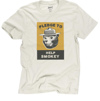 Smokey Pledge Tee - Shop Escape Outdoors
