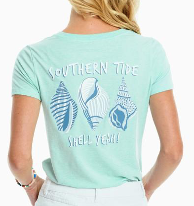 Women's Shell Yeah Heather Fitted T-Shirt